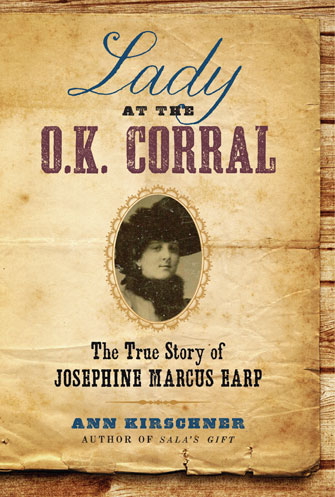 Book cover: Lady at the O.K. Corral