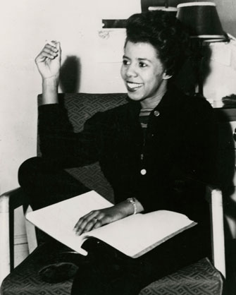 Unknown photographer: Lorraine Hansberry
