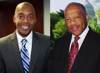 Khalil Gilbran Muhammad and John Lewis