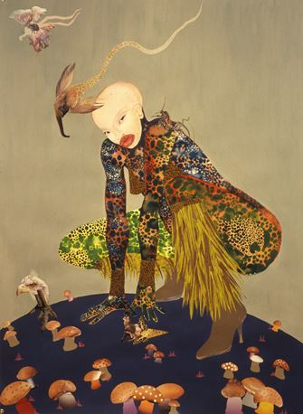 Wangechi Mutu: Riding Death in My Sleep