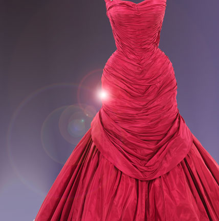Rose pink silk taffeta; white silk satin; red pink and white tulle. Brooklyn Museum Costume Collection at The Metropolitan Museum of ... & Brooklyn Museum: American High Style: Fashioning a National Collection