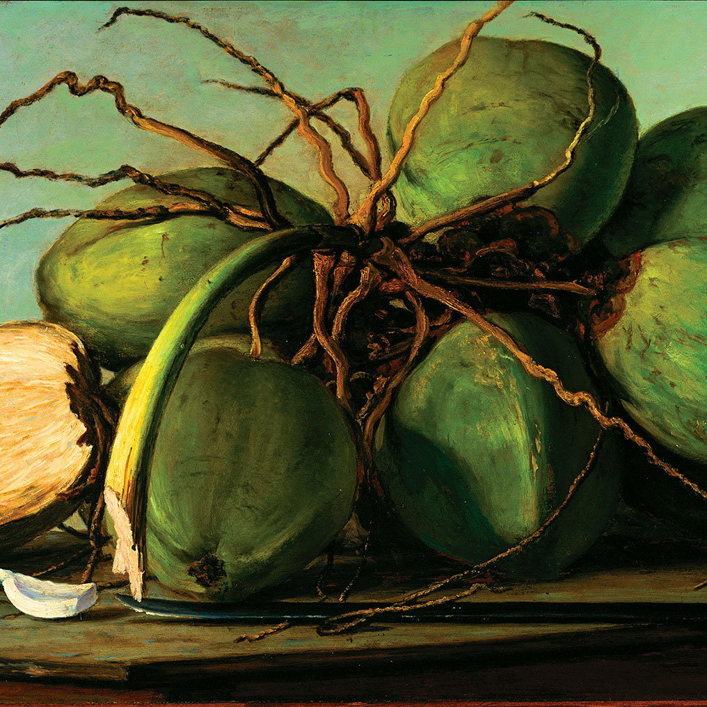 Francisco Oller: Still Life with Coconuts (Naturaleza muerta con cocos)