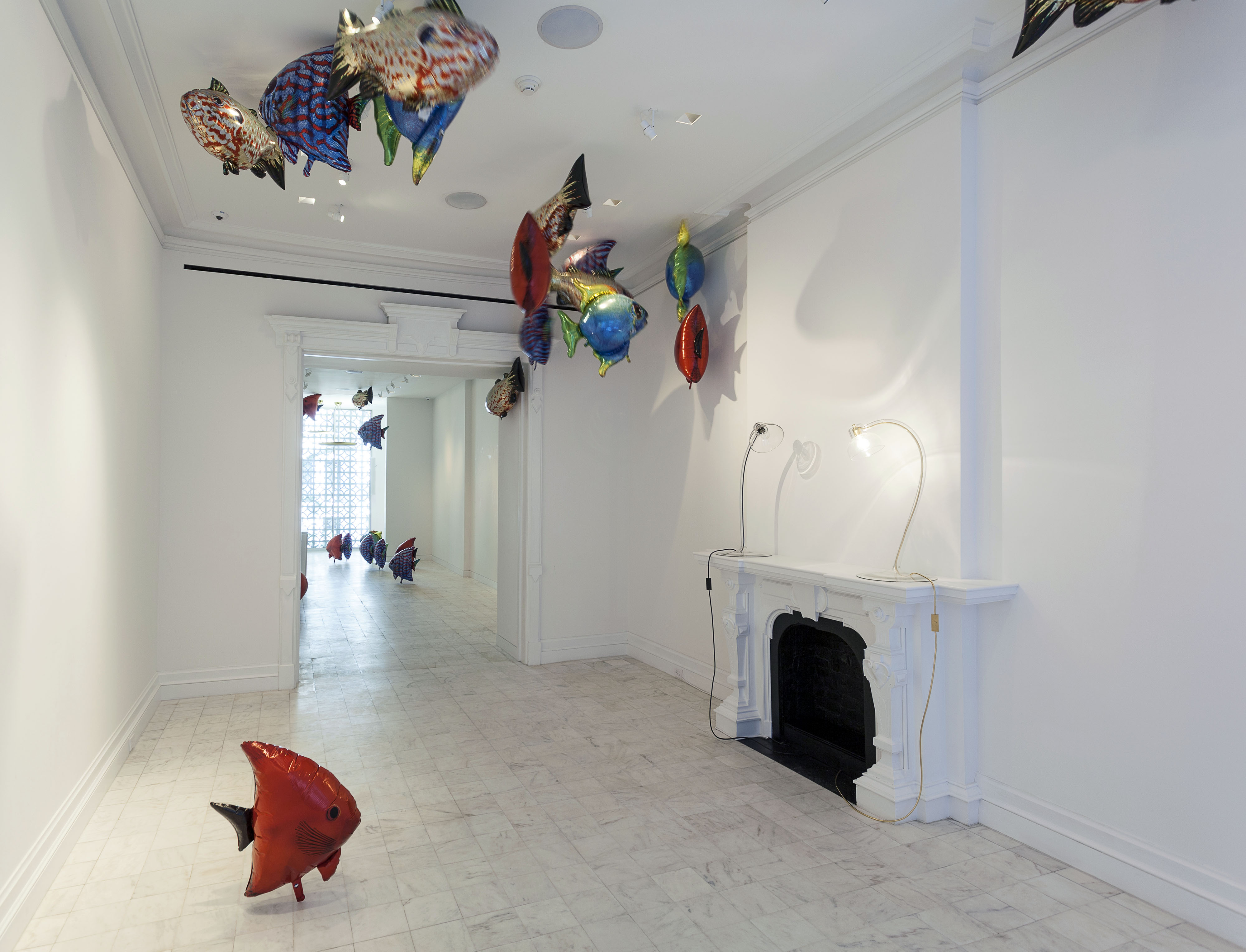 Philippe Parreno  My Room Is Another Fish Bowl. Brooklyn Museum