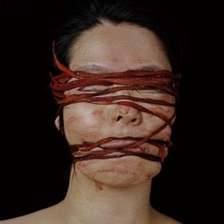 <p>Ryoko Suzuki (Japanese, b. 1970). <i>Bind</i>, 2001. Lambda print. Tokyo Metropolitan Museum of Photography. (Photo: Courtesy of Zeit-Foto Salon, Tokyo)</p>