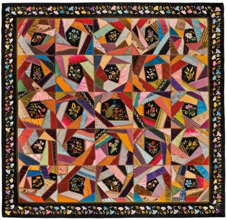 Photograph Quilt & Quaker Quilts: A Memento Of Our Old Matron: The ... : crazy quilt definition - Adamdwight.com