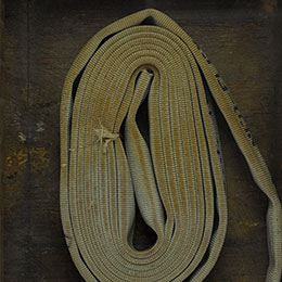 <p>Theaster Gates (American, born 1973). <em>In Case of Race Riot II</em>, 2011. Wood, metal, and hoses, 32 &times; 25 &times; 6 in. (81.3 &times; 63.5 &times; 15.2 cm). Brooklyn Museum, Purchase gift of Jill and Jay Bernstein, 2011.9. &copy; Theaster Gates. (Photo: Sarah DeSantis, Brooklyn Museum)</p>