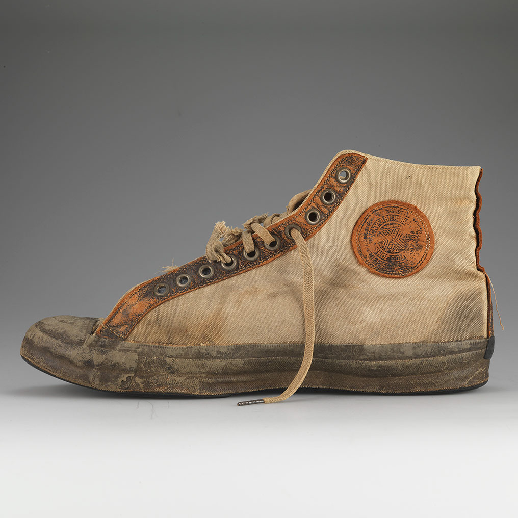 <p>Converse Rubber Shoe Company. All Star/Non Skid, 1917. Converse Archives. (Photo: Courtesy American Federation of Arts)</p>