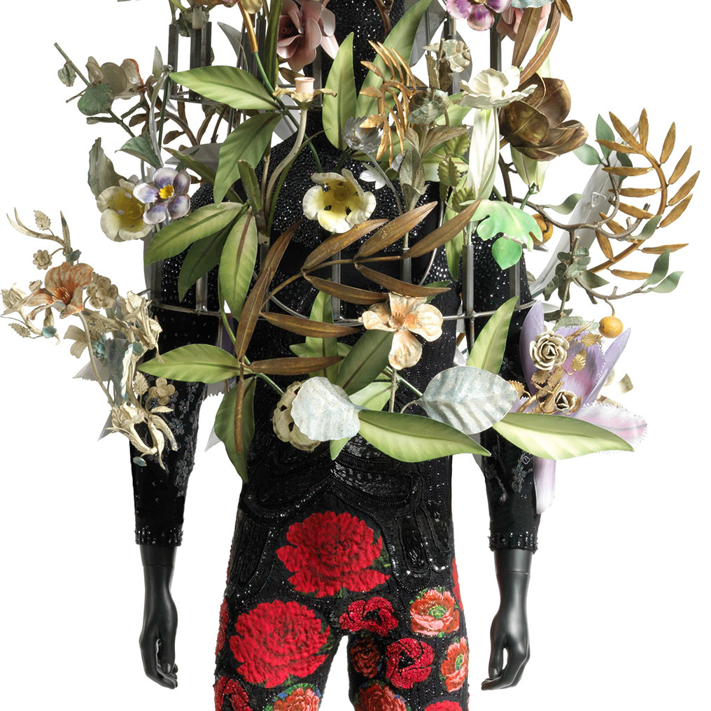 <p>Nick Cave (American, born 1959). <em>Soundsuit</em>, 2008. Mixed media.112 x 43 x 35 in. (284.5 x 109.2 x 88.9 cm). Brooklyn Museum, Mary Smith Dorward Fund, 2009.44a b. &copy; Nick Cave. Photo: Courtesy of Jack Shainman Gallery</p>
