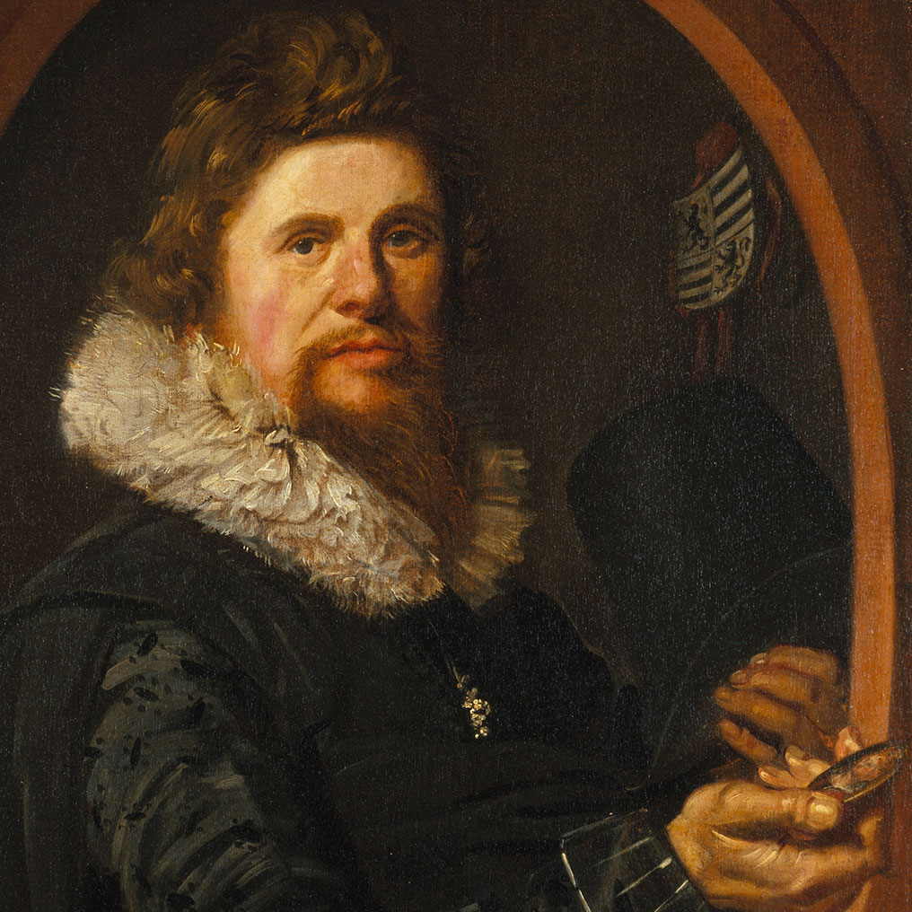 <p>Frans Hals (Dutch, circa 1580&ndash;1666). <em>Portrait of a Man</em>, circa 1614&ndash;15. Oil on canvas, 29 &times; 21<sup>3</sup>&frasl;<sub>4</sub> in. (73.7 &times; 55.2 cm). Brooklyn Museum, Gift of the executors of the estate of Colonel Michael Friedsam, 32.821</p>