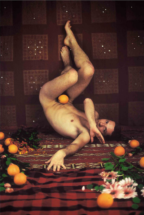 <p>Young man with orange (Male Cycle n° 4)</p>