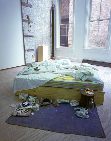 <p>My Bed (Installation at Lehmann Maupin Gallery, New York)</p>