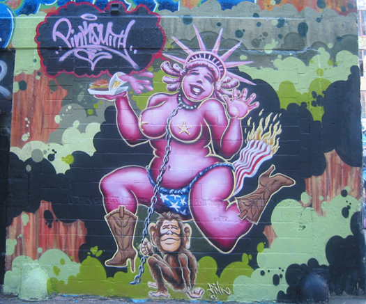 Lady Pink – Street Art