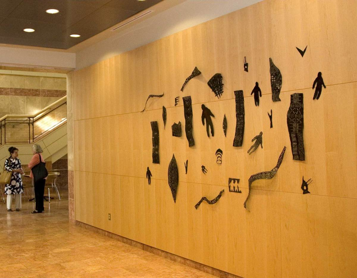 <p>Negelan (wall installation)</p>