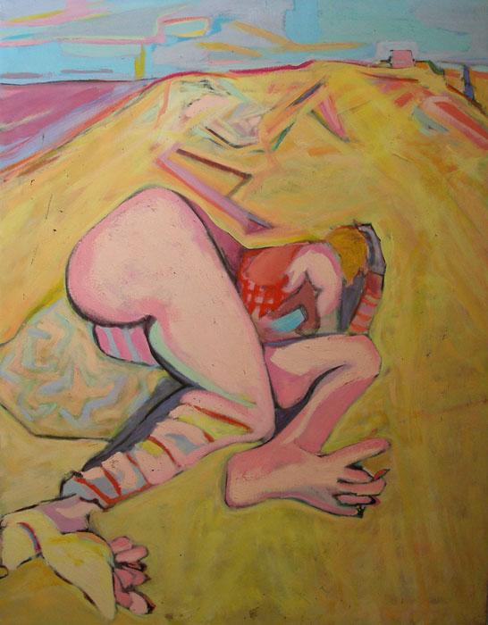 <p>Woman on the Beach</p>