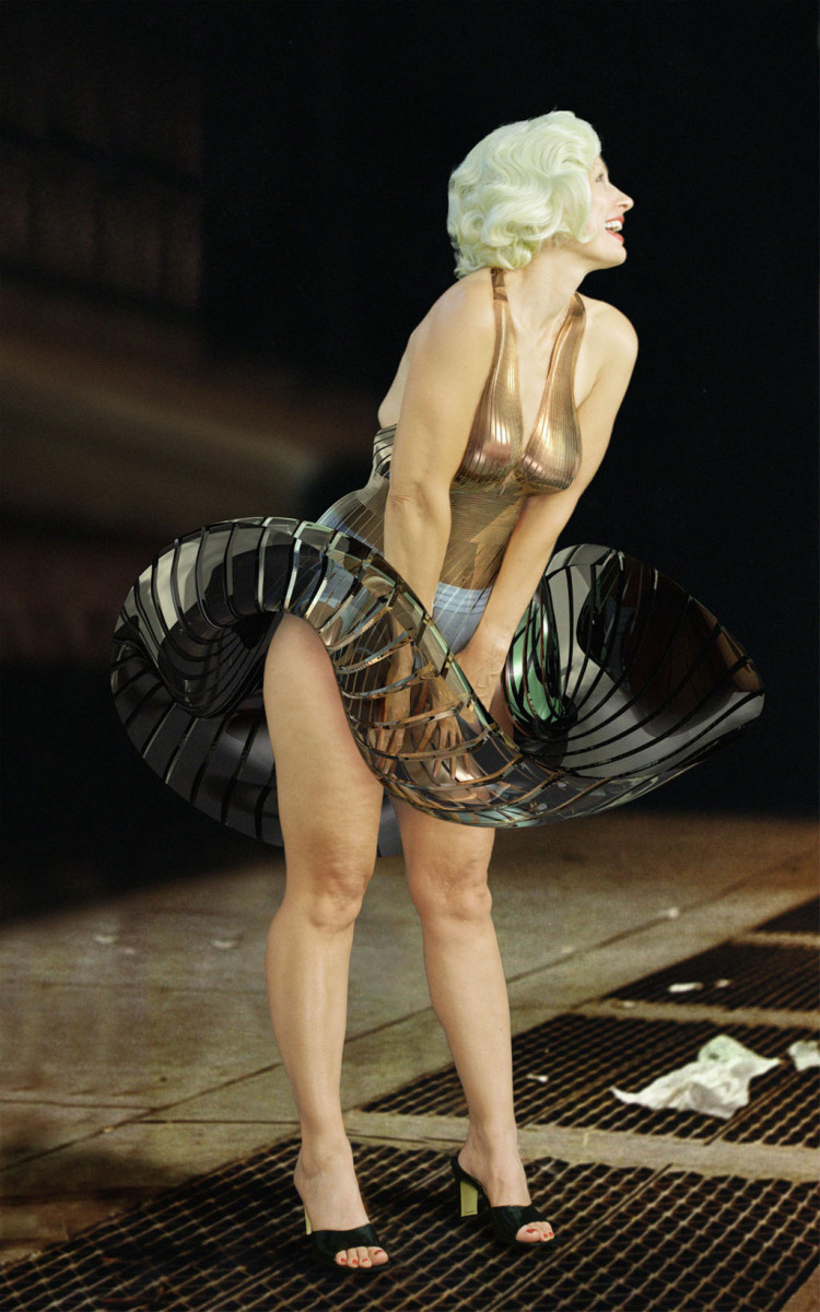<p>Marilyn from the series A-R-Mour</p>