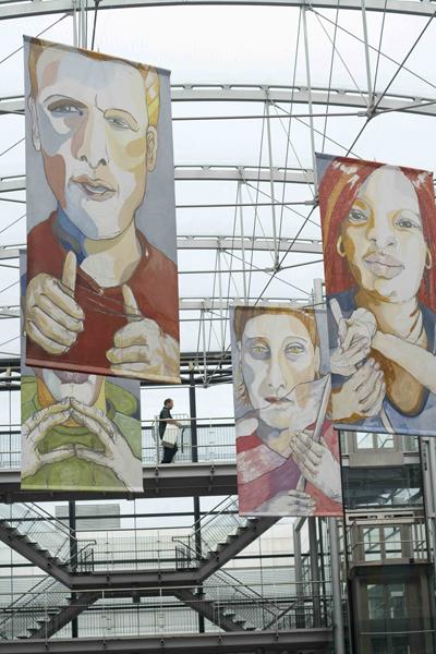 "<p>Installation view of ""Do you See Me?"" In Centrum Beeldende Kunst Zuidoost, Amsterdam</p>"