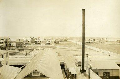 "<em>""Beach Haven: the great seashore opportunity. Views of Beach Haven. View 09: aerial view of houses.""</em>, 1900-1914. Bw photograph (original print), 9 x 7in (23 x 18cm). Brooklyn Museum, Beachhaven. (F142_O2_B35_Beachhaven_007.jpg"
