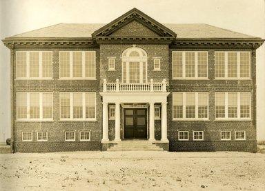 "<em>""Beach Haven: the great seashore opportunity. Views of Beach Haven. View 36: brick building.""</em>, 1900-1914. Bw photograph (original print), 9 x 7in (23 x 18cm). Brooklyn Museum, Beachhaven. (F142_O2_B35_Beachhaven_034.jpg"