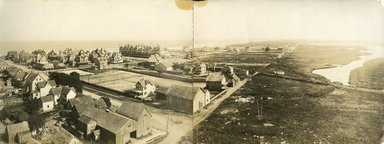 "<em>""Beach Haven: the great seashore opportunity. Views of Beach Haven. View 39: panoramic aerial view.""</em>, 1900-1914. Bw photograph (original print), 9 x 7in (23 x 18cm). Brooklyn Museum, Beachhaven. (F142_O2_B35_Beachhaven_037.jpg"