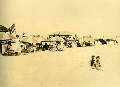 "<em>""Beach Haven: the great seashore opportunity. Views of Beach Haven. View 49: beach view.""</em>, 1900-1914. Bw photograph (original print), 9 x 7in (23 x 18cm). Brooklyn Museum, Beachhaven. (F142_O2_B35_Beachhaven_047.jpg"