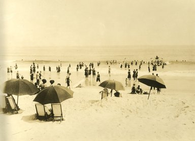 "<em>""Beach Haven: the great seashore opportunity. Views of Beach Haven. View 51: beach view.""</em>, 1900-1914. Bw photograph (original print), 9 x 7in (23 x 18cm). Brooklyn Museum, Beachhaven. (F142_O2_B35_Beachhaven_049.jpg"
