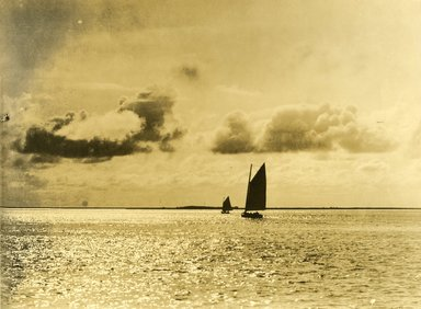 "<em>""Beach Haven: the great seashore opportunity. Views of Beach Haven. View 54: sailboats.""</em>, 1900-1914. Bw photograph (original print), 9 x 7in (23 x 18cm). Brooklyn Museum, Beachhaven. (F142_O2_B35_Beachhaven_052.jpg"