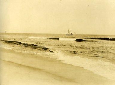 "<em>""Beach Haven: the great seashore opportunity. Views of Beach Haven. View 55: sailboats.""</em>, 1900-1914. Bw photograph (original print), 9 x 7in (23 x 18cm). Brooklyn Museum, Beachhaven. (F142_O2_B35_Beachhaven_053.jpg"