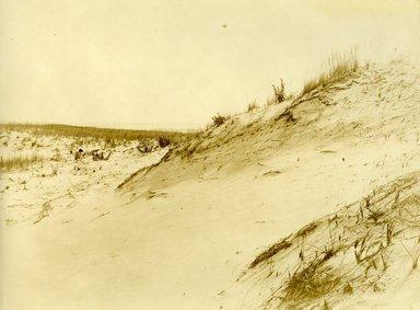 "<em>""Beach Haven: the great seashore opportunity. Views of Beach Haven. View 57: sand dunes.""</em>, 1900-1914. Bw photograph (original print), 9 x 7in (23 x 18cm). Brooklyn Museum, Beachhaven. (F142_O2_B35_Beachhaven_055.jpg"