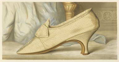 "<em>""Mrs. Woodcock's Shoe""</em>, 1885. Printed material. Brooklyn Museum. (Photo: Brooklyn Museum, GT2130_G7_Greig_1885_pl04_PS4.jpg"