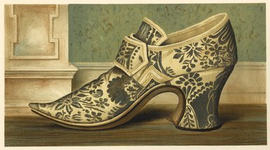 "<em>""Mrs. Brown's Shoe""</em>, 1885. Printed material. Brooklyn Museum. (Photo: Brooklyn Museum, GT2130_G7_Greig_1885_pl08_PS4.jpg"