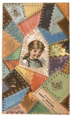 "<em>""Tradecard. Henry Bristow. 294 Fulton Street. Brooklyn, NY. Recto.""</em>. Printed material, 4.3 x 7 in (10.9 x 17.7 cm). Brooklyn Museum, CHART_2012. (HF5841_C59_v1_p32_tradecard02_recto.jpg"