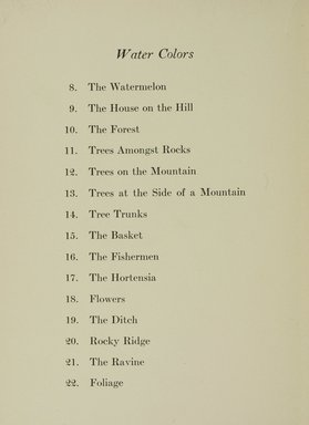 "<em>""Checklist.""</em>, 1915. Printed material. Brooklyn Museum, NYARC Documenting the Gilded Age phase 1. (Photo: New York Art Resources Consortium, N200_C33_M76_0012.jpg"