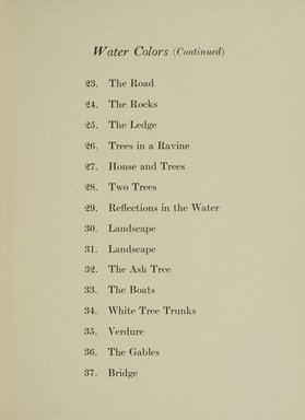 "<em>""Checklist.""</em>, 1915. Printed material. Brooklyn Museum, NYARC Documenting the Gilded Age phase 1. (Photo: New York Art Resources Consortium, N200_C33_M76_0013.jpg"