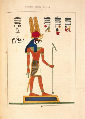 "<em>""Mandou, Mandou-Ré, Mandou-Rti (Mandoulis)""</em>, 1823-25. Printed material. Brooklyn Museum. (N372.2_C35_Champollion_pl27_SL1.jpg"