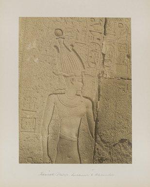 "<em>""Karnak: Philip, Successor to Alexander""</em>. Printed material. Brooklyn Museum. (Photo: Brooklyn Museum, N376_B14_Beato_vol2_pl11_PS4.jpg"