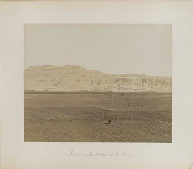 "<em>""Karnak:The Valley of the Kings""</em>. Printed material. Brooklyn Museum. (Photo: Brooklyn Museum, N376_B14_Beato_vol2_pl19_PS4.jpg"