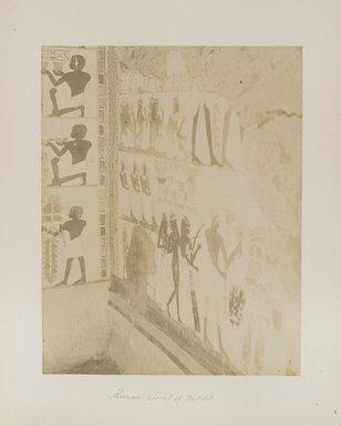 "<em>""Karnak: Tomb of Nekht""</em>. Printed material. Brooklyn Museum. (Photo: Brooklyn Museum, N376_B14_Beato_vol2_pl28_PS4.jpg"