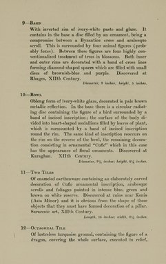 """<em>""""Checklist.""""</em>, 1912. Printed material. Brooklyn Museum, NYARC Documenting the Gilded Age phase 2. (Photo: New York Art Resources Consortium, N6260_F73_0011.jpg"""