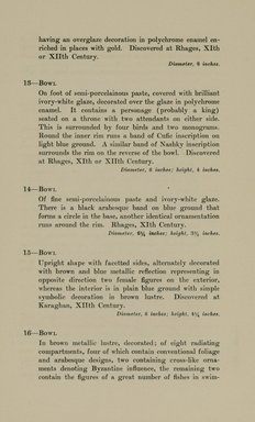 "<em>""Checklist.""</em>, 1912. Printed material. Brooklyn Museum, NYARC Documenting the Gilded Age phase 2. (Photo: New York Art Resources Consortium, N6260_F73_0012.jpg"