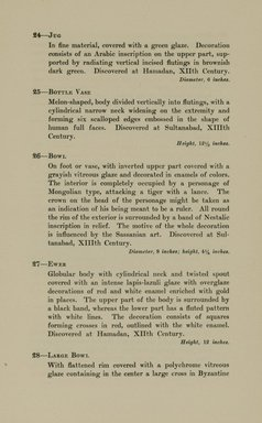 "<em>""Checklist.""</em>, 1912. Printed material. Brooklyn Museum, NYARC Documenting the Gilded Age phase 2. (Photo: New York Art Resources Consortium, N6260_F73_0015.jpg"