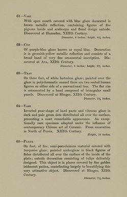 "<em>""Checklist.""</em>, 1912. Printed material. Brooklyn Museum, NYARC Documenting the Gilded Age phase 2. (Photo: New York Art Resources Consortium, N6260_F73_0023.jpg"