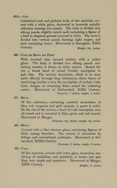"<em>""Checklist.""</em>, 1912. Printed material. Brooklyn Museum, NYARC Documenting the Gilded Age phase 2. (Photo: New York Art Resources Consortium, N6260_F73_0024.jpg"