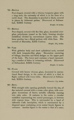 "<em>""Checklist.""</em>, 1912. Printed material. Brooklyn Museum, NYARC Documenting the Gilded Age phase 2. (Photo: New York Art Resources Consortium, N6260_F73_0026.jpg"