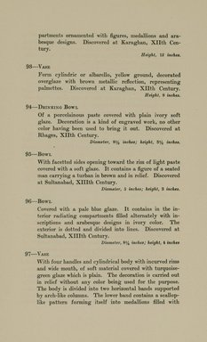 "<em>""Checklist.""</em>, 1912. Printed material. Brooklyn Museum, NYARC Documenting the Gilded Age phase 2. (Photo: New York Art Resources Consortium, N6260_F73_0030.jpg"