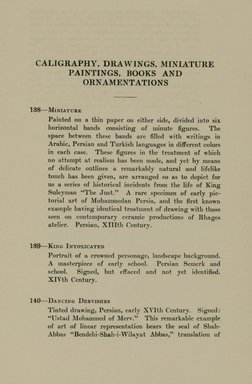 """<em>""""Checklist.""""</em>, 1912. Printed material. Brooklyn Museum, NYARC Documenting the Gilded Age phase 2. (Photo: New York Art Resources Consortium, N6260_F73_0043.jpg"""
