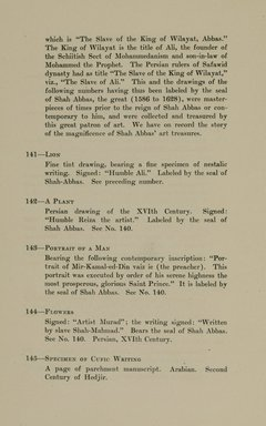"<em>""Checklist.""</em>, 1912. Printed material. Brooklyn Museum, NYARC Documenting the Gilded Age phase 2. (Photo: New York Art Resources Consortium, N6260_F73_0044.jpg"