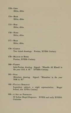 """<em>""""Checklist.""""</em>, 1912. Printed material. Brooklyn Museum, NYARC Documenting the Gilded Age phase 2. (Photo: New York Art Resources Consortium, N6260_F73_0048.jpg"""