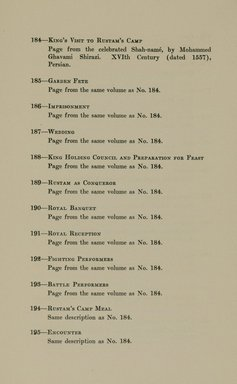 "<em>""Checklist.""</em>, 1912. Printed material. Brooklyn Museum, NYARC Documenting the Gilded Age phase 2. (Photo: New York Art Resources Consortium, N6260_F73_0049.jpg"