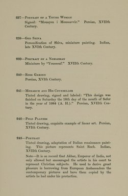 """<em>""""Checklist.""""</em>, 1912. Printed material. Brooklyn Museum, NYARC Documenting the Gilded Age phase 2. (Photo: New York Art Resources Consortium, N6260_F73_0054.jpg"""