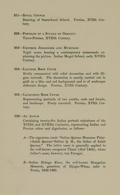 """<em>""""Checklist.""""</em>, 1912. Printed material. Brooklyn Museum, NYARC Documenting the Gilded Age phase 2. (Photo: New York Art Resources Consortium, N6260_F73_0056.jpg"""